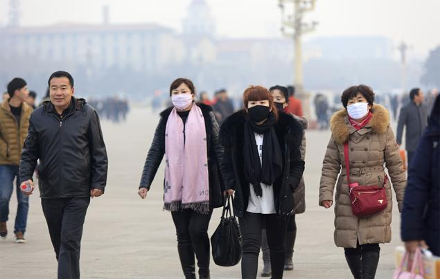 Citizens of Beijing and other Chinese cities are used to wearing masks to shield them from PM2,5 particles. Photograph: Shutterstock