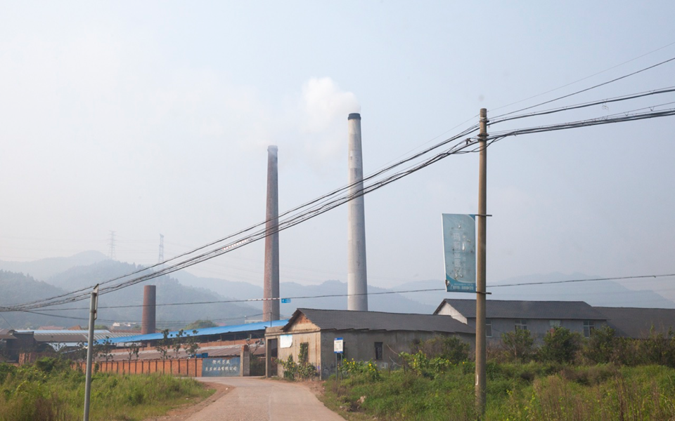 Pollution in rural areas comes from industry, but also from households. Around half of the Chinese population live in rural areas, and Mette Halskov Hansen says that the problem of air pollution there may be much bigger than we are aware of.  Copy right: Airborne. Photo: Annica Thomsson
