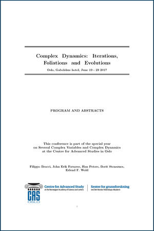 Program and abstracts