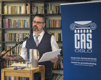 Levi Bryant at Litteraturhuset event by Centre for Advanced Study/ CAS Oslo