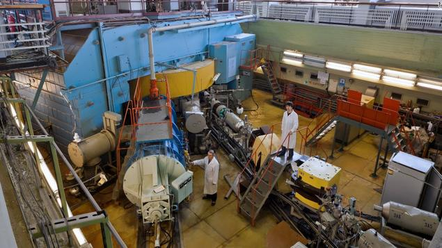 Cyclotron at Joint Institute of Nuclear Research in Dubna, Russia. Photo: JINR.