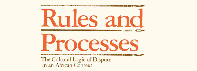 Book title: Rules and Processes: the Cultural Logic of Dispute in an African Context, by John Comaroff and Simon Roberts.
