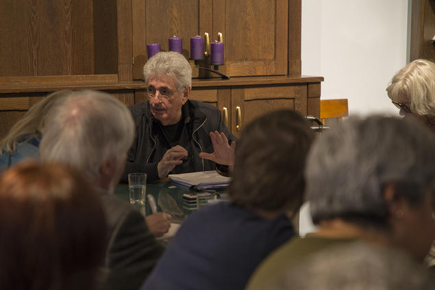 John Comaroff, professor of African and African-American Studies and Anthropology at Harvard University, gives a lecture. Photo: Camilla K. Elmar