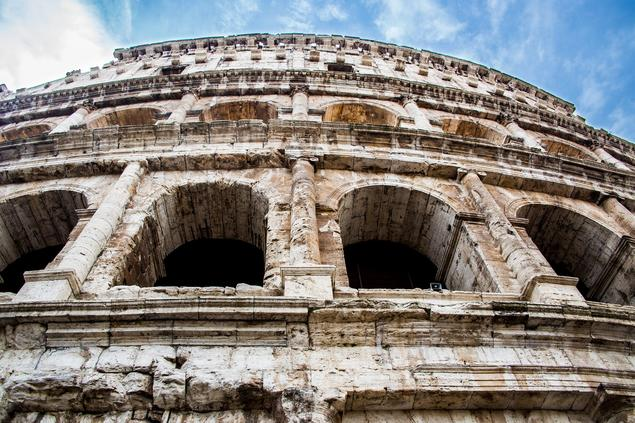 Colosseum in Rome, Photo: creative commons.