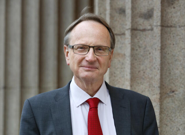 Dag Michalsen, Professor of Law at the University of Oslo (UiO) and former CAS project leader.