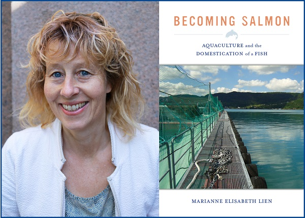 The book Becoming salmon by Professor Marianne Lien, research group leader at Centre for Advanced Study (CAS) in Oslo, got great reviews by Times Literary Supplement.
